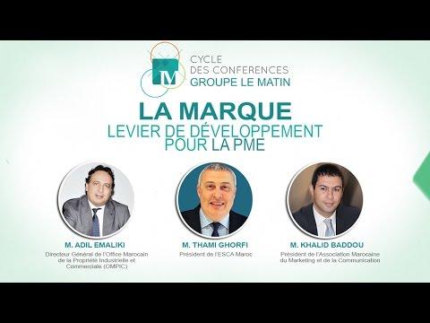 Cycle de conférences du Groupe Le Matin : La Marque - Levier de développement pour la PME