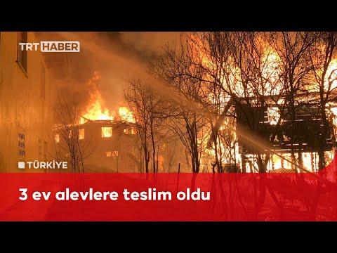 Kastamonu'da yangın: 2 ölü