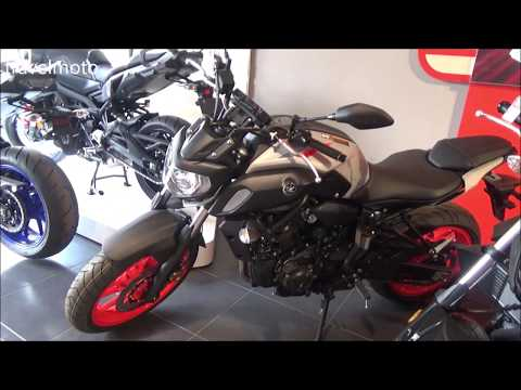 YAMAHA MT 07 naked motorcycle 2019
