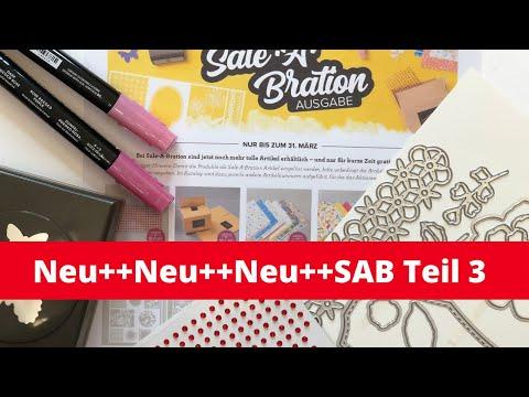 Neue Produkte--Teil 3 der Sale-A-Bration 2020  nur bis 31  März