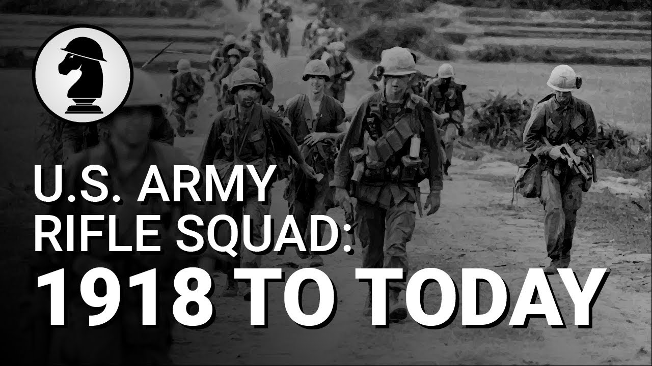 Evolution of the U.S. Army Rifle Squad (WW1 to Now)