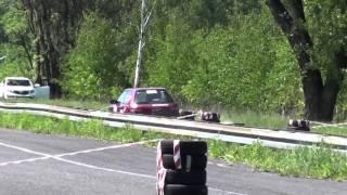 Rally Sprint Majówka - II Runda SMT - 19.05.2013 Andrzej Szewczyk / Gabriela Cienciała - Mazda 323
