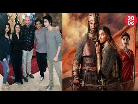 Shahrukh Catches-up With Family In LA | Shahrukh On Why He Didnt Say Yes For 'Bajirao Mastani'