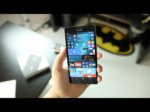 Microsoft Lumia 950 XL مراجعة جهاز