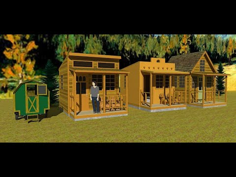 DIY Studio, Desperado and Cottage Cabin ADU Plans