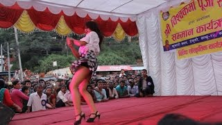 Hot dance in Stage || Chittiyaan Kalaiyaa || Hindi Song Nepali Dance