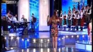 Natasa Stajic - Pojavi se covek - (LIVE) - Jedna zelja, jedna pesma - (TV Happy 2014)