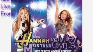 Rockstar - Hannah Montana [LIVE VERSION]