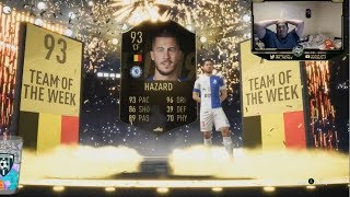 I PACKED 93 INFORM HAZARD!!!! - FIFA 19