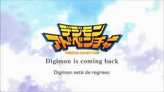 【TRAILER】 Digimon Adventure Tri ~Primavera 2015~ [Subtítulos Inglés - Español]