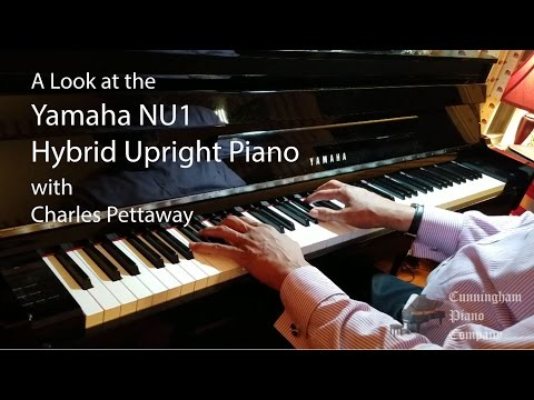 A Look at the Yamaha NU1 Hybrid Upright Piano with Charles Pettaway
