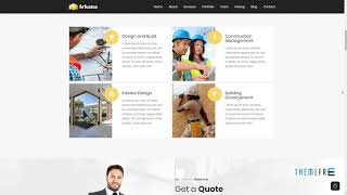 Arkana - One Page Construction WordPress Theme      Joss Selby