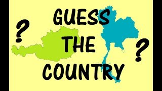 Hardest Quiz on Country Shapes! - Match the Country with its Land Area Shape | Geography Test