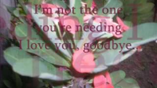 """CELINE DION """"I love you goodbye"""" w/ LYRICS"""