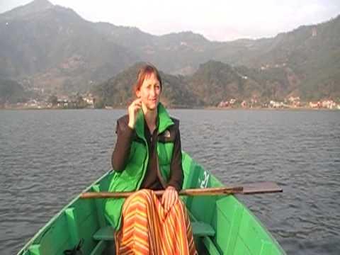 Nepal – Trek Day 13 – Paddling around Pokhara lake.MOD