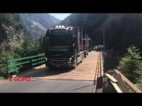 I nuovi ponti della Val Visdende