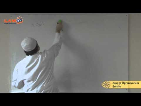 Arapça Dersi 6 - Zamirler ve Fiili Mâzi Çekimleri (Arapça Öğreniyorum)