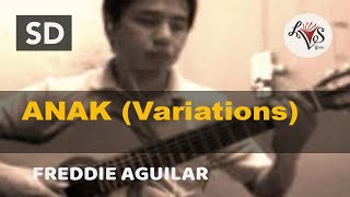 Anak - Freddie Aguilar (solo guitar cover)
