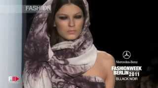 """BLACK NOIR"" Autumn Winter 11 12 Berlin HD pret a porter women by Fashion Channel"
