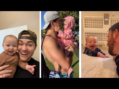 Adorable daddy baby girls #19 - Funniest videos #shorts