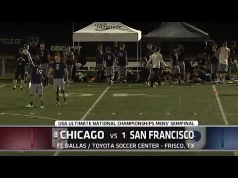Video Thumbnail: 2015 National Championships: Men's Semifinal: San Francisco Revolver vs. Chicago Machine