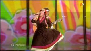 Portugal Flor De Lis - Todas As Ruas Do Amor 1st Semifinal Eurovision 2009
