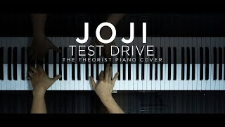 Joji - Test Drive   The Theorist Piano Cover