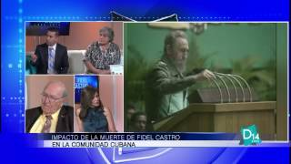 Impacto de la muerte de Fidel Castro en la comunidad cubana en el Suroeste de Florida