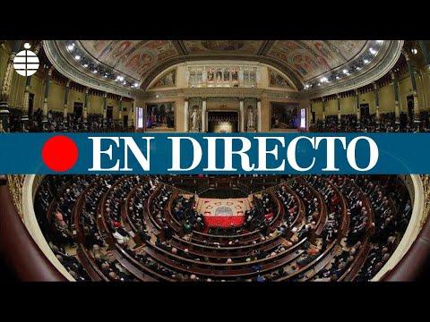 Sesión de Control al Gobierno, en directo