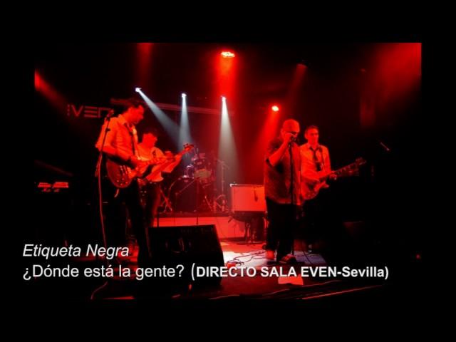 Vídeo de un concierto en la sala Even.