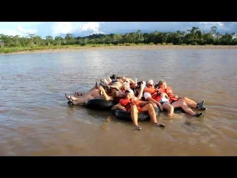 Tubing Ecuador's Napo River