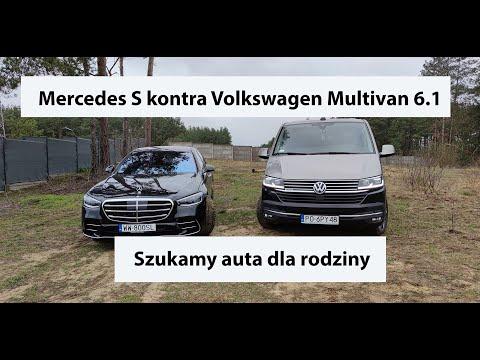 Auta bez ściemy - Mercedes Klasa S kontra Volkswagen Multivan 6.1. Szukamy limuzyny dla rodziny
