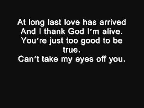 I love you love song baby lyrics