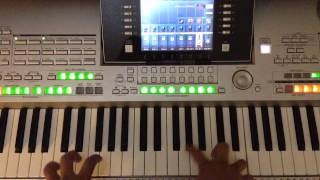 """Practicando la cancion """"se busca"""" instrumental con piano"""