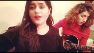 شاهد فناة باحساس اكثر من رائع تؤدي أغنية 2 كلمات   Ihab Amir   2 Kelmat cover