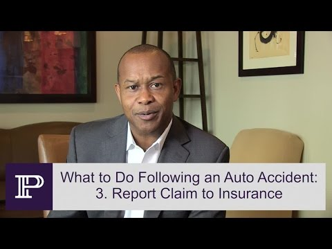 Four Things You Should Do Following A Car Accident – Personal Injury Attorney Paul Perkins explains