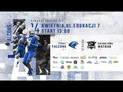 LFA1 2019: Tychy Falcons vs Wataha Zielona Góra