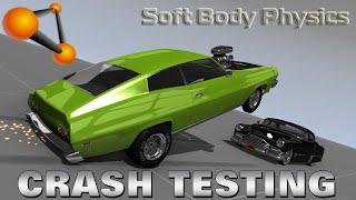 BeamNG.drive - Sports Cars Crash Testing - Soft Body Physics