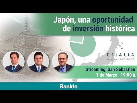 STREAMING - Japón, una oportunidad de inversión histórica