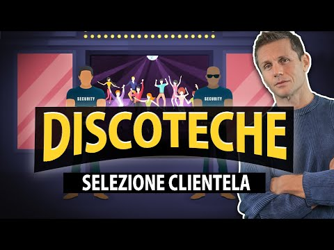 DISCOTECHE e LOCALI: si può selezionare la clientela? | avv. Angelo Greco
