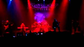 Rhapsody- Intro- live @ PPM