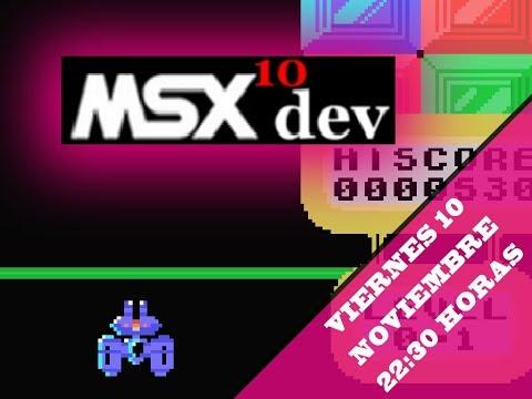 Los videojuegos de MSXdev'10 - MSX homebrew