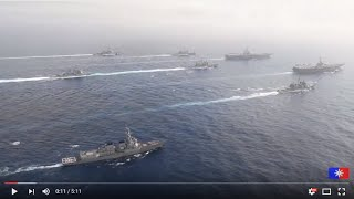 US Navy Dual-Carrier Strike Group Show of Force in Philippine Sea