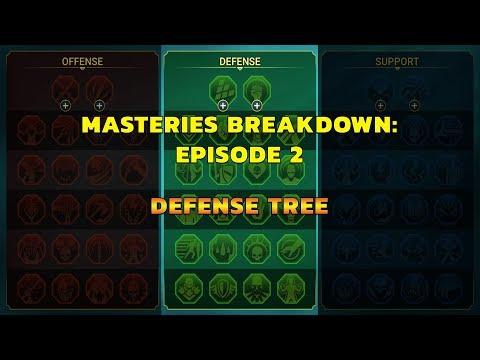 Raid: Masteries 101 - Defense Tree