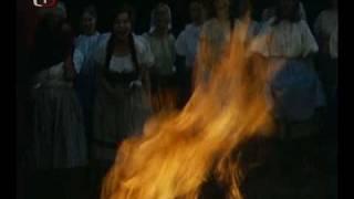 Babička - fire celebration - music by Luboš Fišer