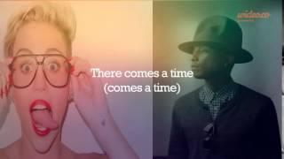 Come Get it Bae - Pharell Williams ft. Miley Cyrus Lyrics