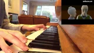 The Piano - Amazing Short Animation (Melody)