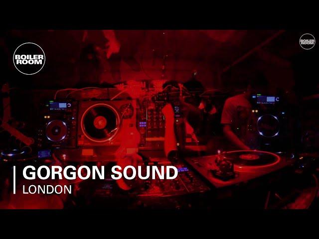Video en directo de Gorgon Sound en Boiler Room London.