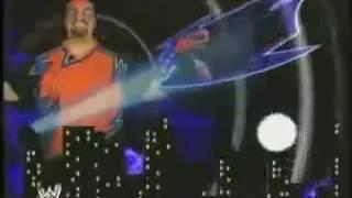 "WWE Rosey Anoa'i - Theme Song ""Eye of the Hurricane"" + TITANTRON"