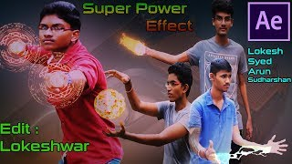 After Effects : Super Power Video